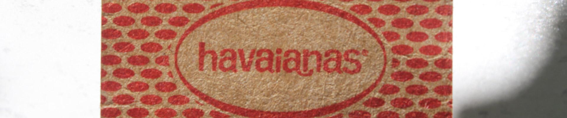 havaianas logo tongs homme